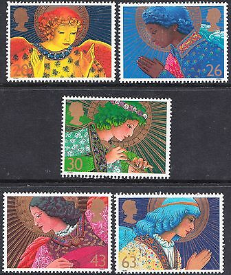 GB 1998 Christmas Complete Set  SG2064 - 2068 Unmounted Mint
