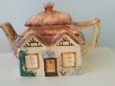 vintage keele st pottery  Hand painted cottage ware teapot