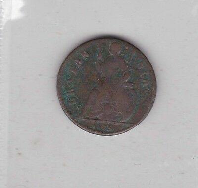 1675 Charles Copper Farthing In Good Fine Condition