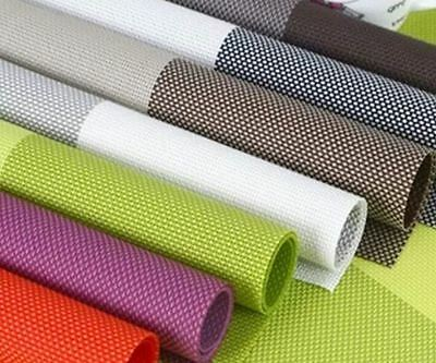 Washable Placemats non-slip heat-resistant insulation PVC mats for dining table