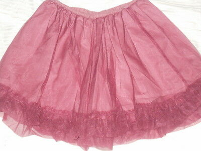 Girls Crewcuts Tulle Skirt Size M-L 9-10
