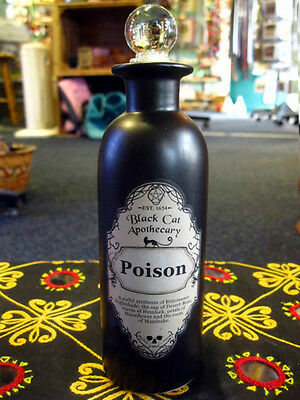 POISON POTION BOTTLE Spells Witch Charm ALCHEMY APOTHECARY Wiccan PAGAN CELTIC