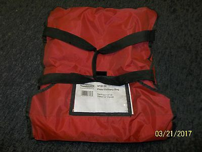 "Rubbermaid ProServe insulated pizza delivery bag 9F36 velcro closure 12"" 13"""