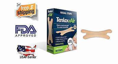 BEST SELLER - LOW PRICE! High Quality Nasal Strips Air - 30 TAN Strips