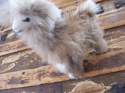 Furry Fur Covered LLama llama Vintage? Soft & Adorable