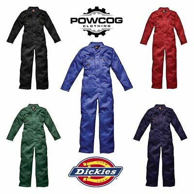 Mens Dickies Redhawk Zip Up Coverall Overalls Boiler Suit Knee Pad Pocket WD4839