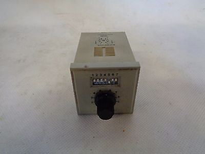 Potter Brumfield Cns-35-72 Programmable Time Delay Relay