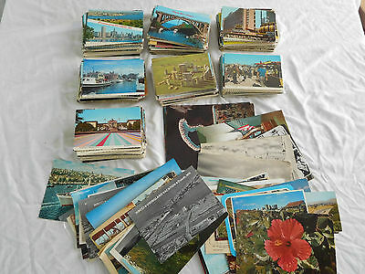 Lot 700 Continental Size Postcard USA International Foreign + Oversize