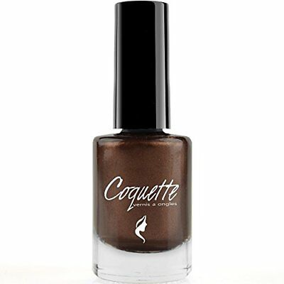 Isabelle Dupont ® Coquette Nail Polish Varnish - 60 Colours Copper Brown