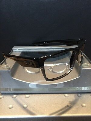 ==Oakley Two Face Twoface Polished Black/ Gunmetal Frame Fast Free S/H==