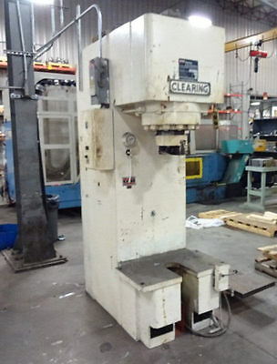 """75 Ton Clearing """"hgs-75-35-12"""" Gap-Type Hydraulic Straightening Press - #28045"""