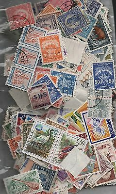 Yugoslavia Kiloware off paper 50gms fine used excellent selection 200+ stamps
