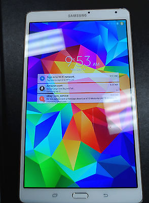 """Samsung Galaxy Tab S 8.4"""" SM-T700 Android  6.0.1 2056x1600 1.9Ghz Super AMOLED"""