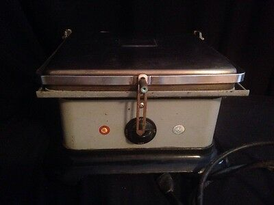 Vintage STAR Quik-Serv Grill Commercial Model 29 Flat Top Double Sided WORKING