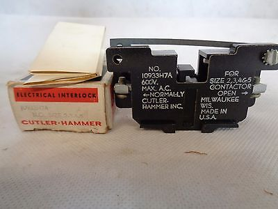 New Cutler-Hammer 1093H7A Auxiliary Contact