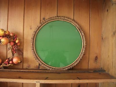 Vintage, Retro 1950s/60s Round Glass Drinks Serving Tray