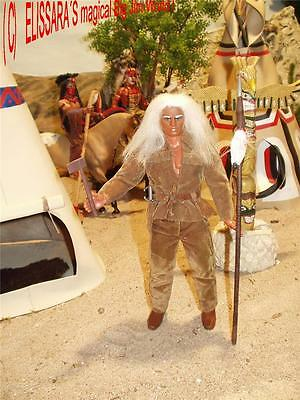 Big Jim -Custom Figur - KLEKIH-PETRA Lehrmeister der Apachen ! Karl May Winnetou