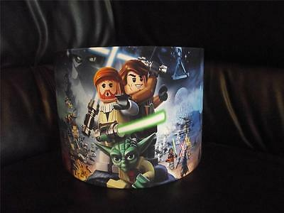 "Lego Star Wars -D2 - 10"" Drum Ceiling Lampshade Lightshade"