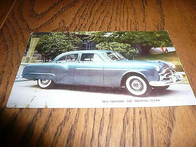 1952 Packard 200 Touring Sedan Postcard