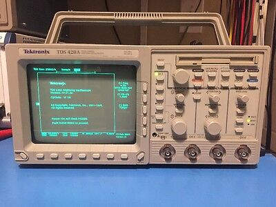 Tektronix TDS 420A Four Channel Digitizing Oscilloscope 200 MHz 100 MS/s