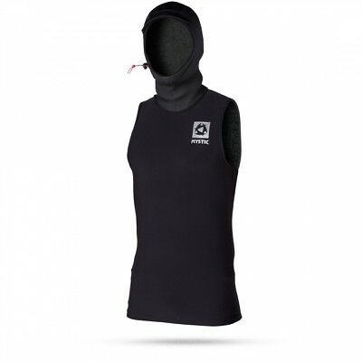 Mystic Bipoly Thermo Hooded Tanktop black