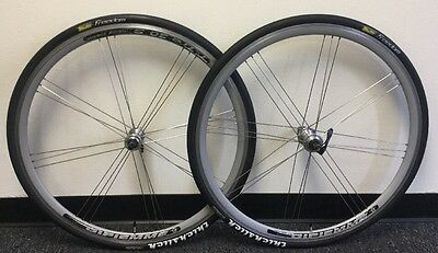 Gipiemme Wheelset Aero 700 X 23C Thickslick Tires 9 Speed