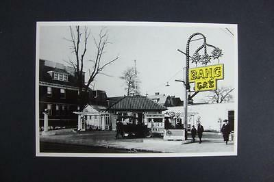 329) 1920 Bang Gas Station From The Bettmann Archive Un-Posted 1996 Reproduction