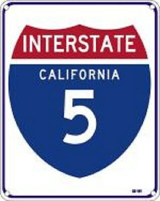 """Interstate 5  8""""x10"""" Metal Novelty Silly Signs"""
