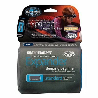 Sea To Summit Expander Sleeping Bag Liner - Berry