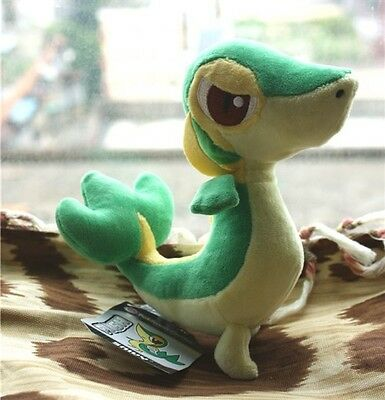 Pokemon Snivy Tsutarja 7 In. Plush Toy Figure Banpresto Soft Doll