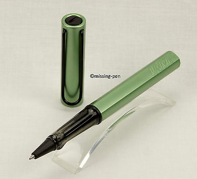 LAMY Safari Al-Star Special Edition Roller Silvergreen from 2010 with Black Clip