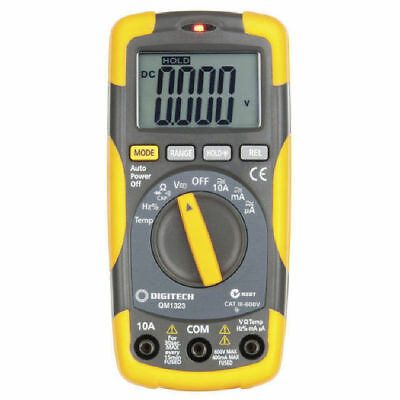 NWA Digital Multimeter CAT III with Temperature