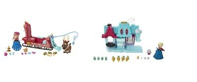 Hasbro Disney Ice Queen Little King dom small Play set Dolls play set