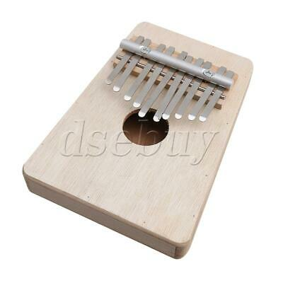 BQLZR 10 Keys Wooden Africa Kalimba Mbira Finger Thumb Piano Wood Instrument