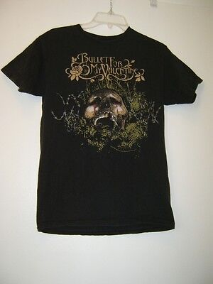 Small 2006 T-Shirt Bullet For My Valentine Concert Tour