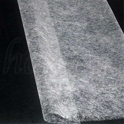 Double Sided Fusible Interfacing Fabric Buckram Tape Non-woven DIY Cloth 23g