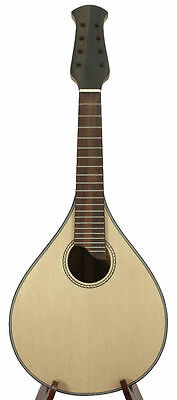 Handcrafted Flat back Mandolin KIT Solid Spruce-Mahogany with Accessories-02 #