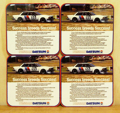 Drink Coaster Set Of 4 - Nissan Datsun Bluebird Turbo