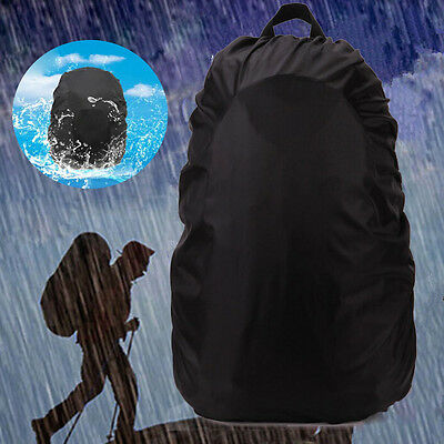 Portable Waterproof Outdoor Camping Hiking Backpack Rucksack Bag Dust Rain Cover