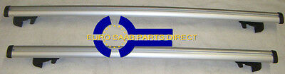 NEW SAAB 9-3 5D ROOF BARS For Fitted Roof Rails - 32025594