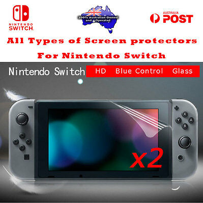Nintendo Switch Screen Protector 9H Tempered Glasses HD Film Guard Sheet Shield