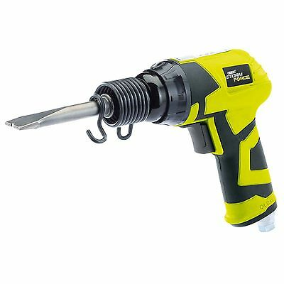 """Draper Storm Force Composite Air Hammer And Chisel Kit 1/4"""" + 5 Chisels"""