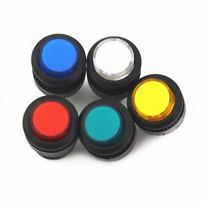 5pcs 16MM Latching push button switch with 4P LED lighting R16-503AD
