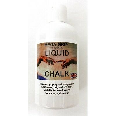 Mega Grip Liquid Chalk Hand Grip Pole Dancing Gym Chalk 250 ml