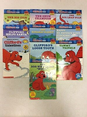 10 Clifford The Big Red Dog Readers! Free Shipping!!
