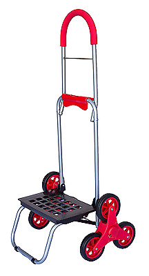 Grocery Stair Climber Climbing Cart Bag Wheels Basket Utility Dolly Trolley
