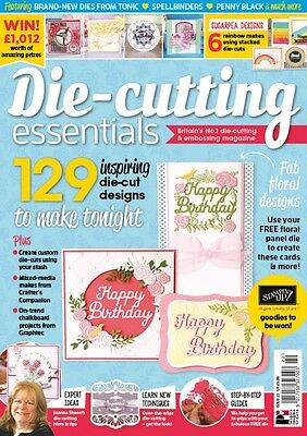 Die Cutting Essentials Craft Mag Issue 22 + FREE GIFT Happy Birthday *NEW* 2017