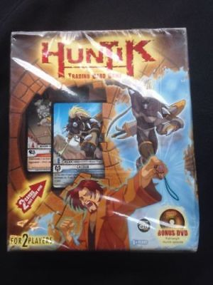 UPPER DECK - Huntik secrest and seekers - trading card 2 player game + DVD (G26)