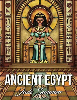 Ancient Egypt: An Adult Coloring Book with Famous Egyptian Mythology