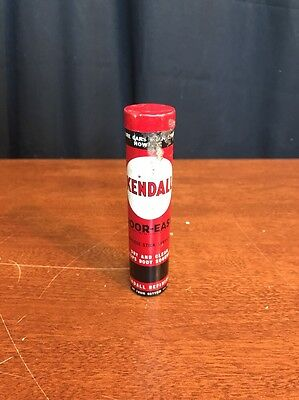 1930s Vintage Kendall  door ease tube can,Rare, Super Graphics!